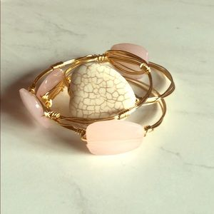 Handmade bangle bracelets